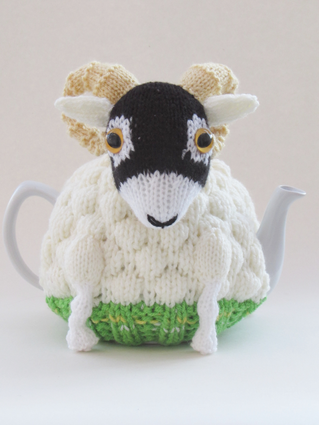 Swaledale Sheep tea cosy