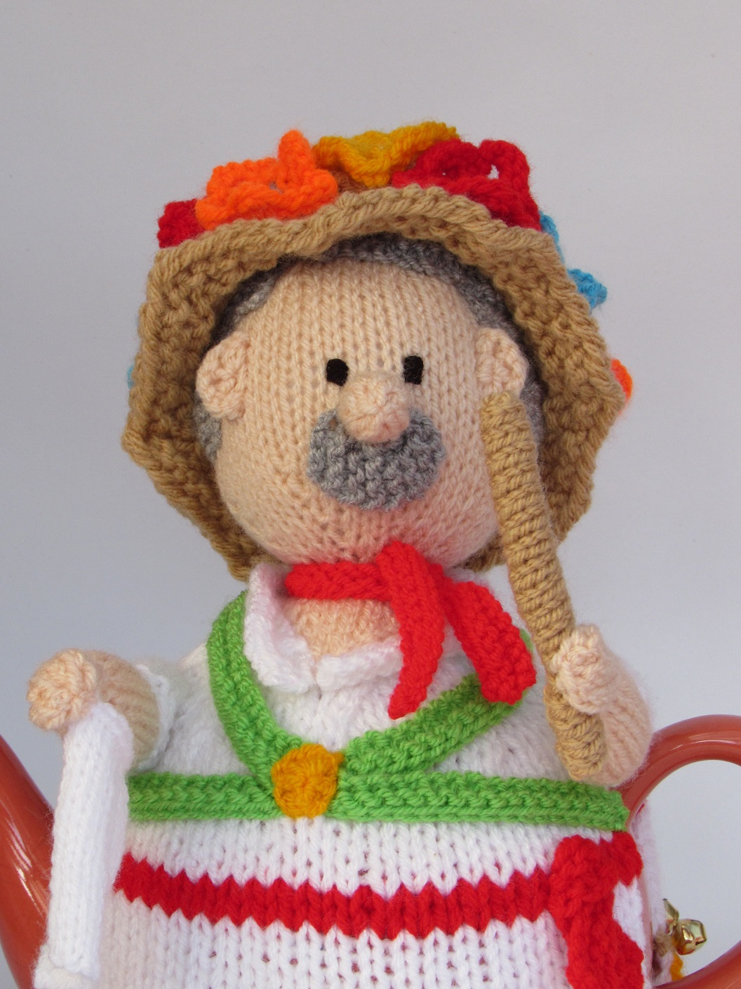 Morris Dancer knitting pattern