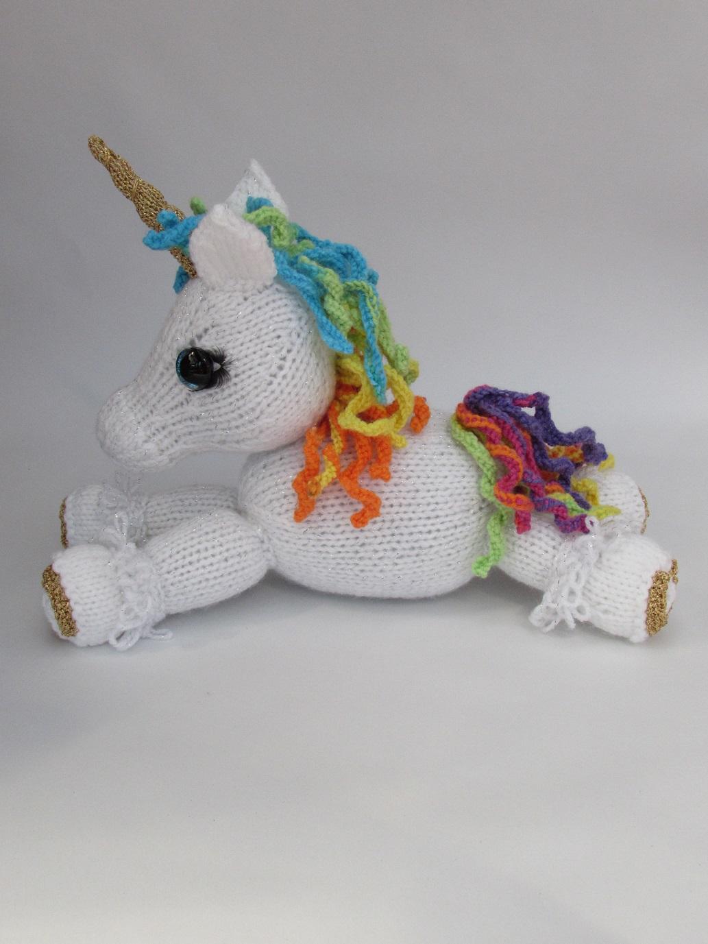 Unicorn Knitting Pattern Uk : Unicorn tea cosy knitting pattern