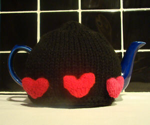 Valentines Mix and Match Hearts knitting pattern