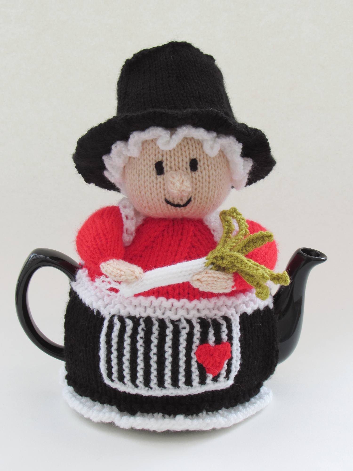 Welsh Lady tea cosy