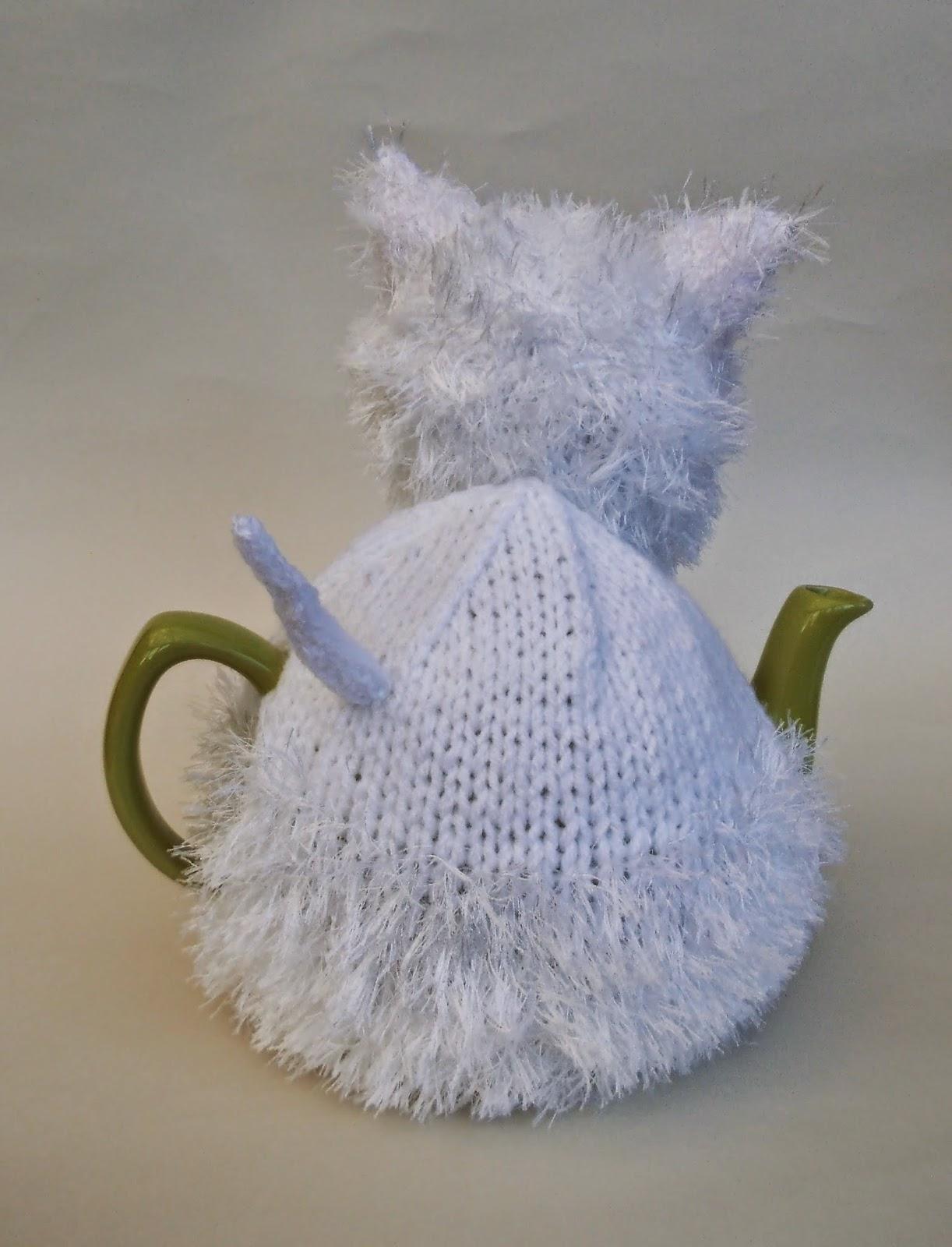 Knitting Pattern Westie Dog : West Highland Terrier (Westie) tea cosy knitting pattern