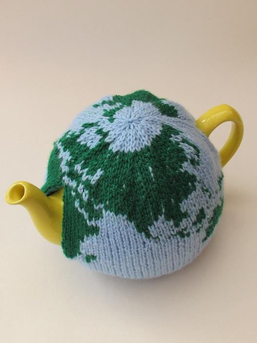 World Tea Cosy Knitting Pattern