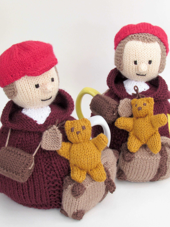 World War Two Evacuee tea cosy knitting pattern