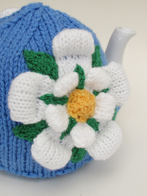 Roses Knitting Centre : Yorkshire rose tea cosy knitting pattern